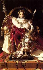 Napoleone Io sul suo Imperiale Throne-large