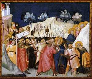 Assisi-vault-The Cattura di Cristo
