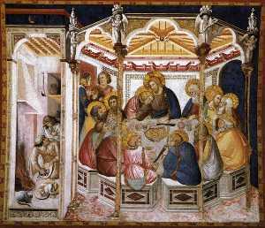 Assisi-vault-The ultima cena