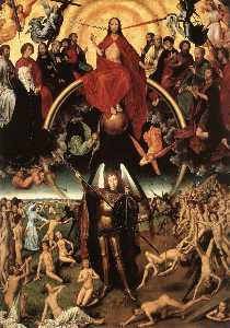 Last judgment - last judgment triptych (central)