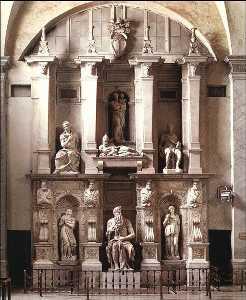 Papa Julius II LA - Tumba de Julius II LA