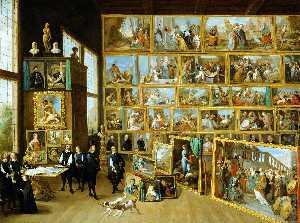 Archduke Leopold Wilhelm s Studio