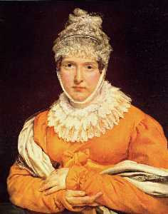 Portrait of Mademoiselle Recamier