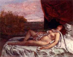 Femme nue endormie