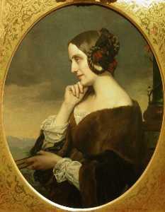 Portrait de Marie d-Agoult