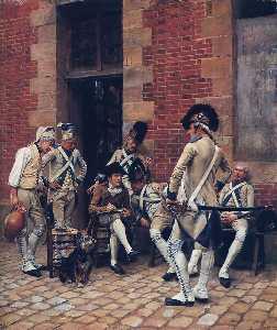 The sergeants portrait