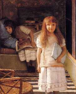 This is our Corner (Laurense and Anna Alma Tadema)