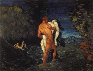 The abduction,1867, fitzwilliam museum cambridge