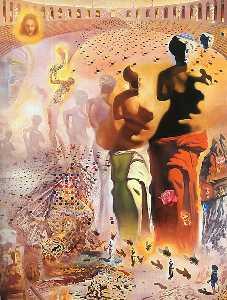 Dalí the hallucinogenic toreador, oil on canvas, th