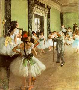 La classe de danse, ca Musee d'Orsa