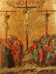 Crocifissione , Museo dell'Opera del duomo , Siena .