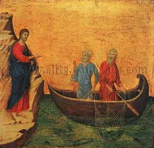 la chiamata del Apostoli Peter e Andrea , -