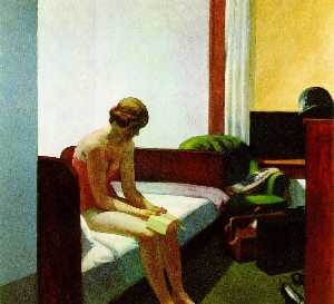 Hotel room,1931, Thyssen-Bornemisza Collection