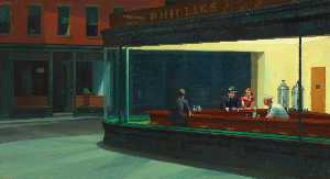 Nighthawks, The Art Institute of Chicago, Chica