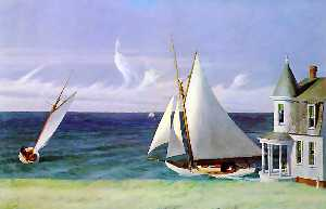 The lee shore, private