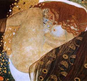 Dánae , óleo sobre lienzo , privado colle