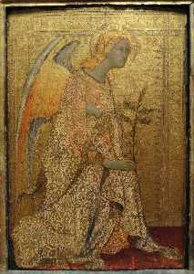 The Angel of the Annunciation, 1333, National Galler
