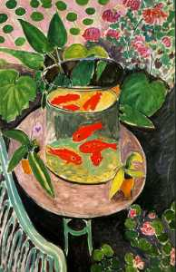 The Goldfish, oil on canvas, Pushkin Museum of