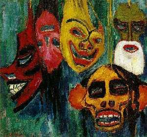 Mask Still Life III,