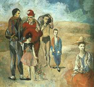 Family of Saltimbanques