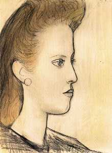 Portrait de Mademoiselle Aubrey