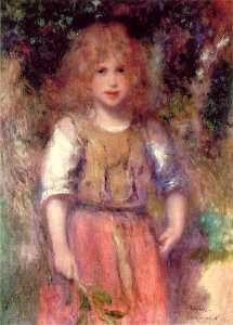Gypsy girl, Private collection, Canad