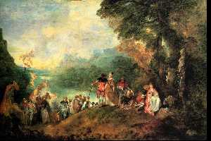 The Embarkation for Cythera, Louvr