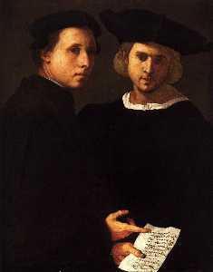 Portrait of Two Friends
