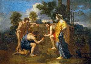 The Arcadian Shepherds (Et in Arcadia Ego) -