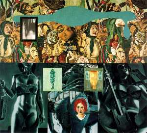 Wikioo.org - The Encyclopedia of Fine Arts - Artist, Painter  David Salle