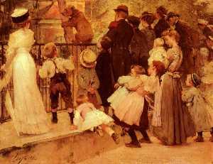 Wikioo.org - The Encyclopedia of Fine Arts - Artist, Painter  Henry-Jules-Jean Geoffroy