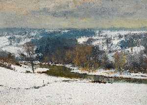 Winter in the Bure Valley