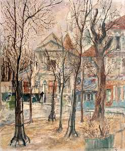 Montmartre im herbst , ( 1944 )