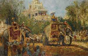 Wikioo.org - The Encyclopedia of Fine Arts - Artist, Painter  Alfred Bastien