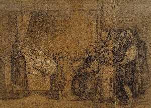 Wikioo.org - The Encyclopedia of Fine Arts - Artist, Painter  Eduardo Rosales
