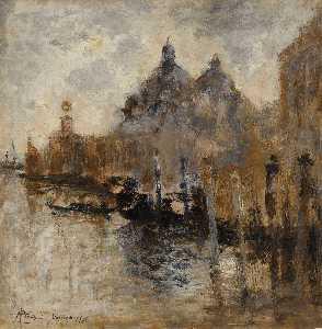 vista de saludo  cómo  venecia  1908