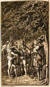 Illustration from Johannes Ewalds Rolf Krage