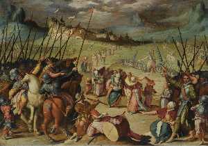 Wikioo.org - The Encyclopedia of Fine Arts - Artist, Painter  Isaac Claesz Van Swanenburg (Isaac Nicolai Van Swanenburg)