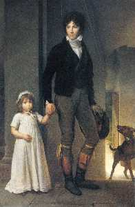 Miniaturist, with his Daughter