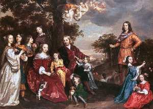 Willem van den Kerckhoven and Family