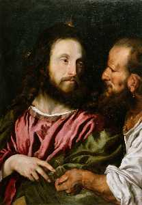 The Pharisees tried to trap Christ by asking him whether people should pay taxes to the Romans