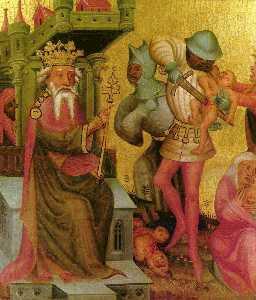Buxtehuder Altar Scene Betlehemitischer infanticide