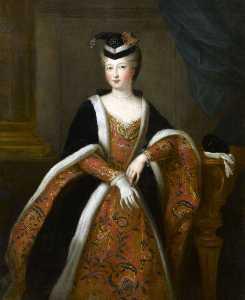 Portrait of Alexandrine Elisabeth de Bourbon, Miss Direction