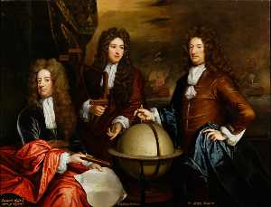Edward Russell, Earl of Orford, Captain John Benbow and Admiral Ralph Delavall