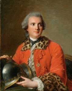 Portrait of Jean Victor de Rochechouart, Duc de Mortemart , In The Ceremonial Dress of a Colonel of the Order of Saint Louis