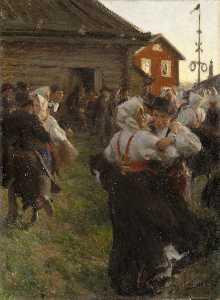 Midsummer Dance Svenska Midsommardans