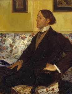 Portrait of Charles Conder