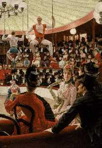 English Women of Paris The Circus Lover