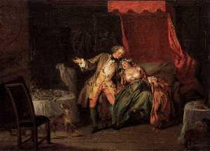 Mme. de Bouvillon Tempts Fate by Asking Ragotin to Search for a Flea