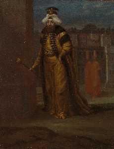 English 24th Sultan and 103rd Calip of Islam, Mahmud I (1696–1754). Türkçe 24. Osmanlı Padişahı ve 103. İslam Halifesi I. Mahmud (1680–1739)